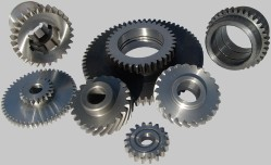 Cylindrical gear wheels with straight and helical gears